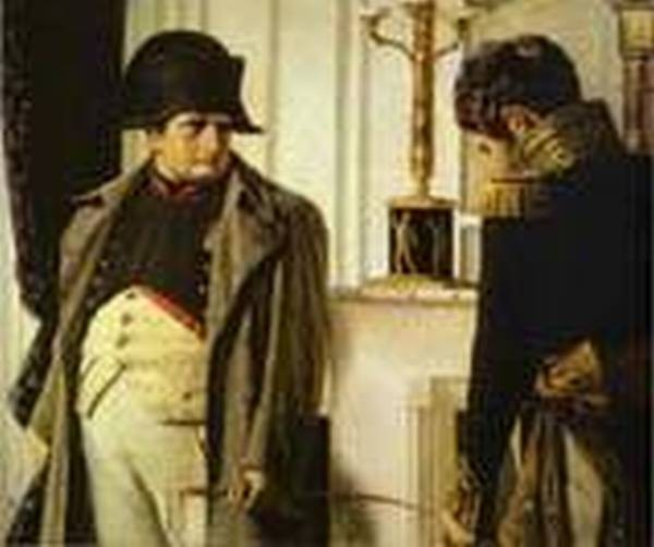 Napoleon and marshal loriston peace at all costs 1899 1900 xx historical museum moscow russia